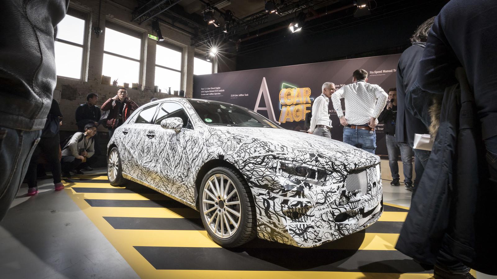 Foto de Mercedes-Benz Clase A 2018 - presentación (53/114)