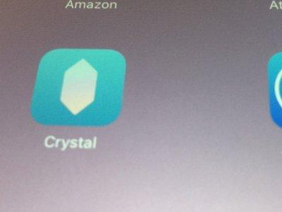 Comienza el negocio: Crystal cobrará a las compañías para mostrar sus anuncios en iOS