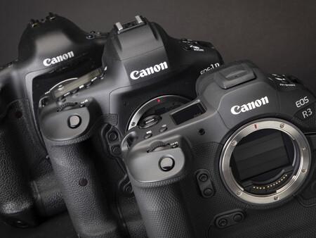 De la Canon T90 a la EOS R3: un recorrido visual por las cámaras de Canon desde la década de los 80