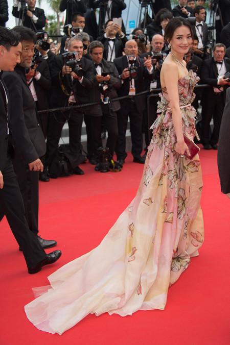 Shu Qi Festival Cannes 2015 Elie Saab
