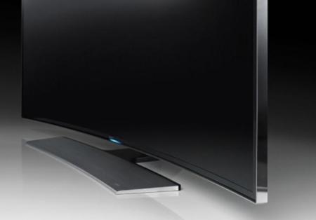 Televisores con pantalla curva