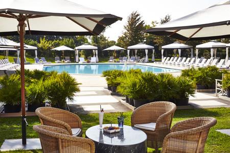 Kempinski Venice La Dolce Bar With Pool View 2016