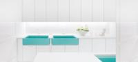 Da un toque de color a tu cocina con un nuevo fregadero