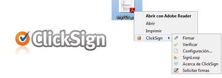 Clicksign, sencilla aplicación de firma electrónica