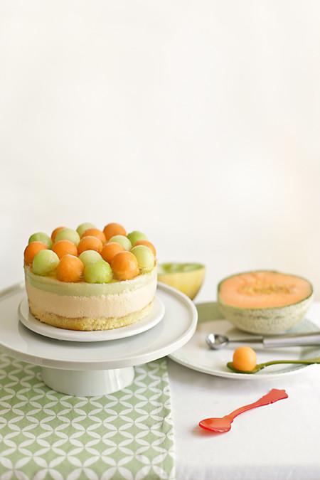 Tarta Mousse Melones