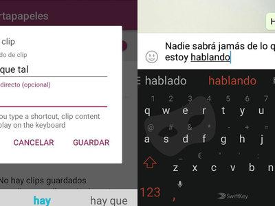 Swiftkey Keyboard añade modo incógnito, portapapeles y más