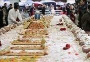 Roscón Solidario de Reyes más grande del mundo