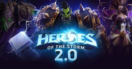 Heroes of the Storm regalará un pack de 20 personajes con motivo del estreno de su versión 2.0