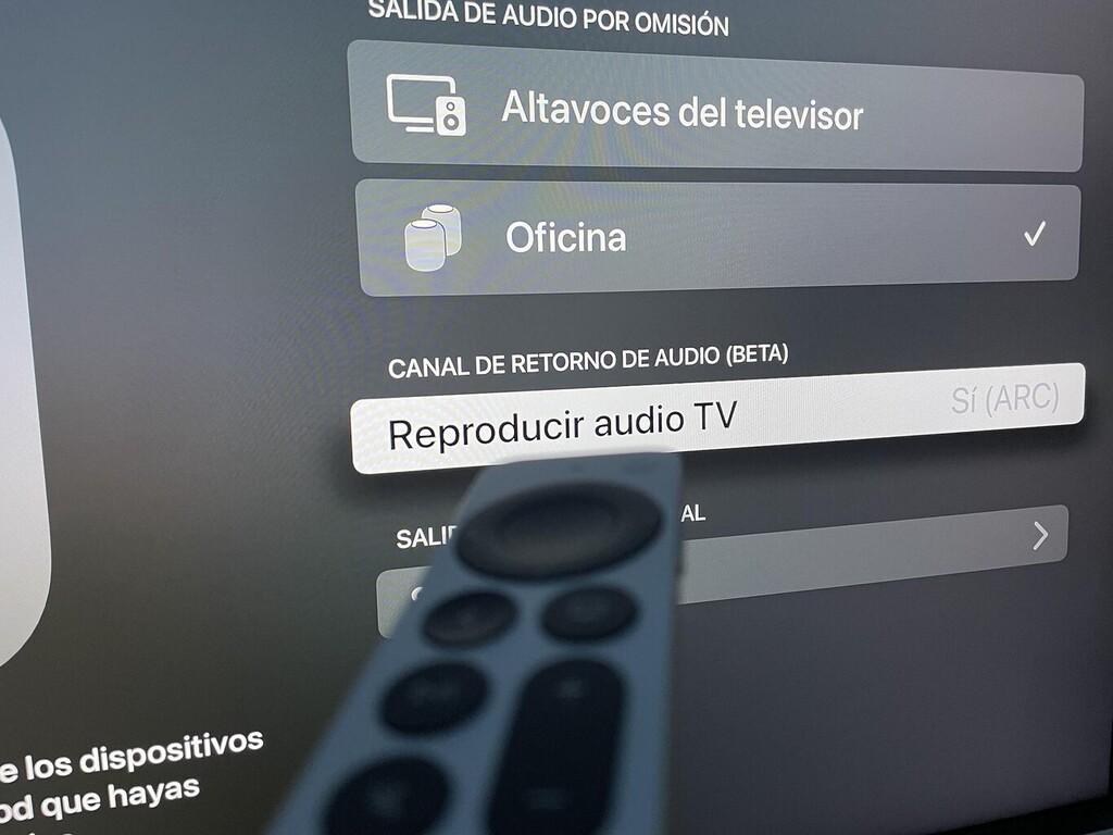 Apple trae el sonido de la TV al HomePod y asegura estar trabajando en