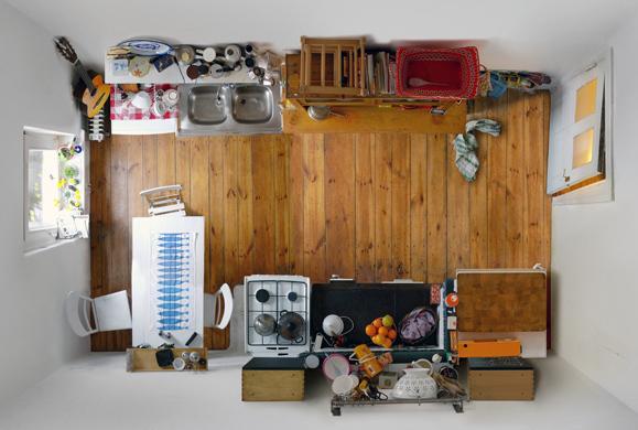 """Foto de """"Room portraits"""", habitaciones retratadas desde un nuevo ángulo por Menno Aden (4/7)"""