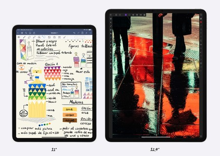 Dos tamaños, el mismo iPad por dentro