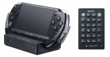 PSP Cradle: control remoto para tu PSP conectada a la TV
