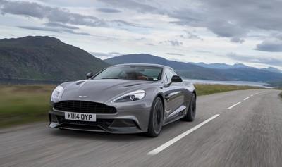 Los Aston Martin Vanquish y Rapide S reciben varias mejoras