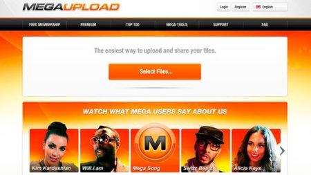 Megaupload almacenaba datos de 2,5 millones de españoles