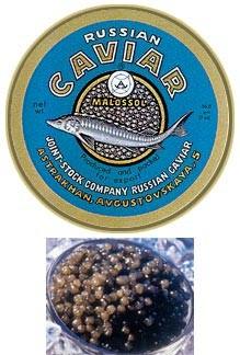 La moda del caviar según  los antiguos reyes