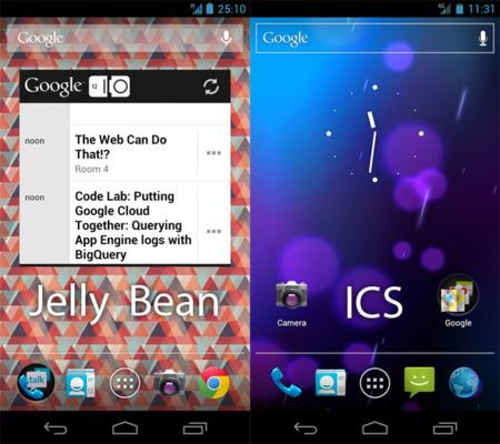 ¿Primera imagen de Android Jelly Bean?