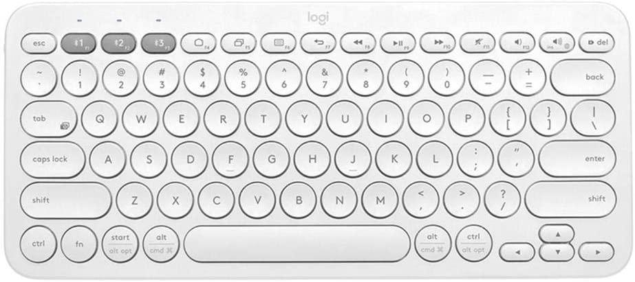 Teclado Bluetooth K380 multidispositivo - Blanco