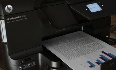 Imprimiendo con la HP Officejet Pro 8600