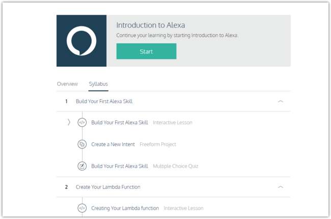Introduction To Alexa Codecademy