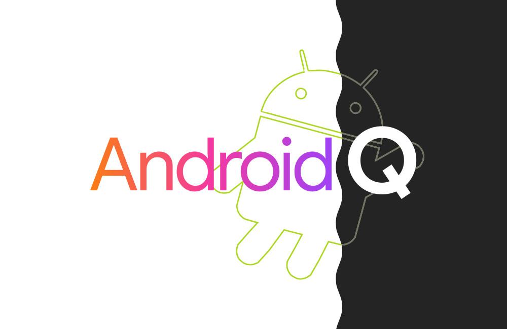 Android Q, se filtran las primeras novedades y capturas: tema oscuro, permisos mejorados y más