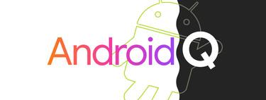 Android Q, se filtran las primeras novedades y capturas: tema oscuro, permisos mejorados. modo escritorio y más