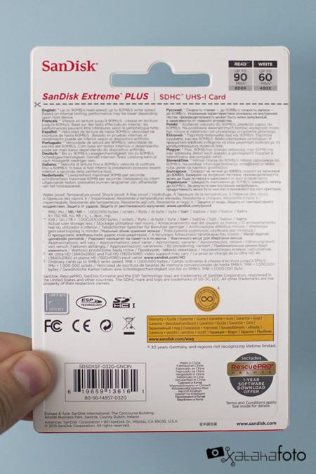 SanDisk Extreme Plus SDXC UHS-I