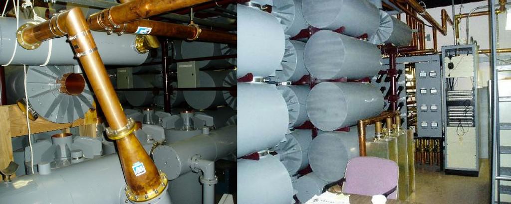 Interiores de la antena del Empire State