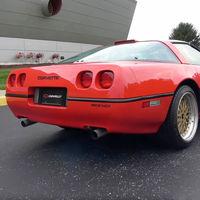 Batalla de egos. Este es el único Corvette V12 del mundo y con el que General Motors pretendía enterrar al Dodge Viper