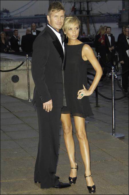 David Y Victoria Beckham 20 Aniversario Boda 2007