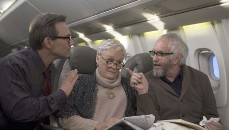 Christian Slater, Glenn Close y Jonathan Pryce