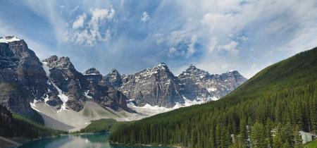 Paisajes de ensueño: el Valle de los Diez Picos en Canadá