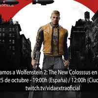 Streaming de Wolfenstein II: The New Colossus a las 19:00h (las 12:00h en Ciudad de México) [finalizado]
