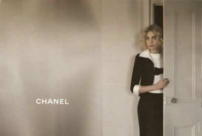 Heidi Mount es el rostro de la nueva campaña de Chanel