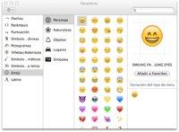 Cómo usar el teclado emoji en OS X Lion