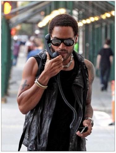 Lenny Kravitz: de los actores de 'Los Juegos del Hambre'
