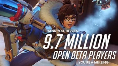 La beta de Overwatch logró casi 10 millones de jugadores