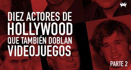 Diez actores de Hollywood que también doblan videojuegos (Parte 2)