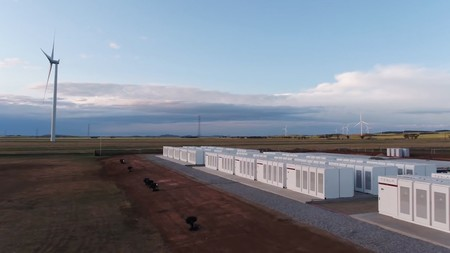 Tesla Battery Farm