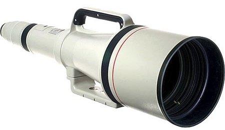 Canon EF 1200mm f/ 5.6, el objetivo más caro jamás creado por Canon