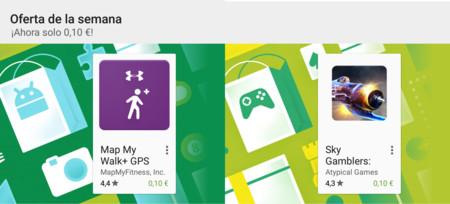 Oferta de la semana en Google Play: Map My Walk+ y Sky Gamblers rebajados a 0,10€