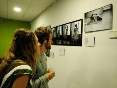 La exposición en el centro cívico Can Castelló