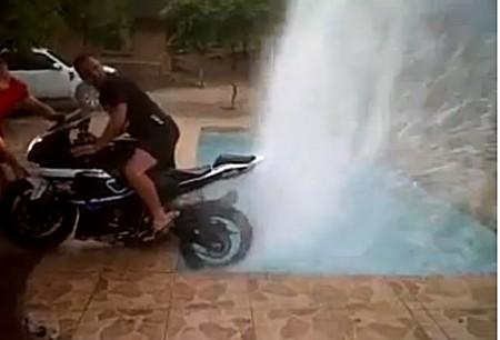 Cómo usar una Suzuki GSXR1000 como bomba de agua
