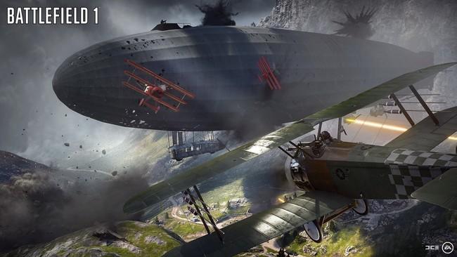 Battlefield 1 Zepelin