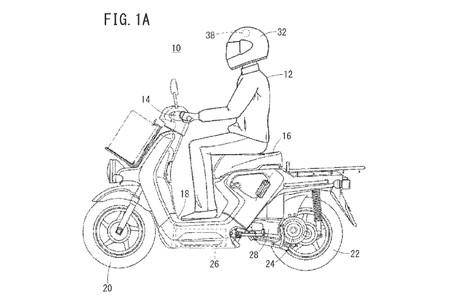 Honda Casco Scooter Electrico