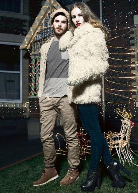 Pelo Urban Outfitters fiesta Navidad 2011