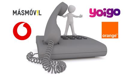 Comparativa de tarifas 'sólo fijo': precios y condiciones de MásMóvil, Orange, Vodafone y Yoigo