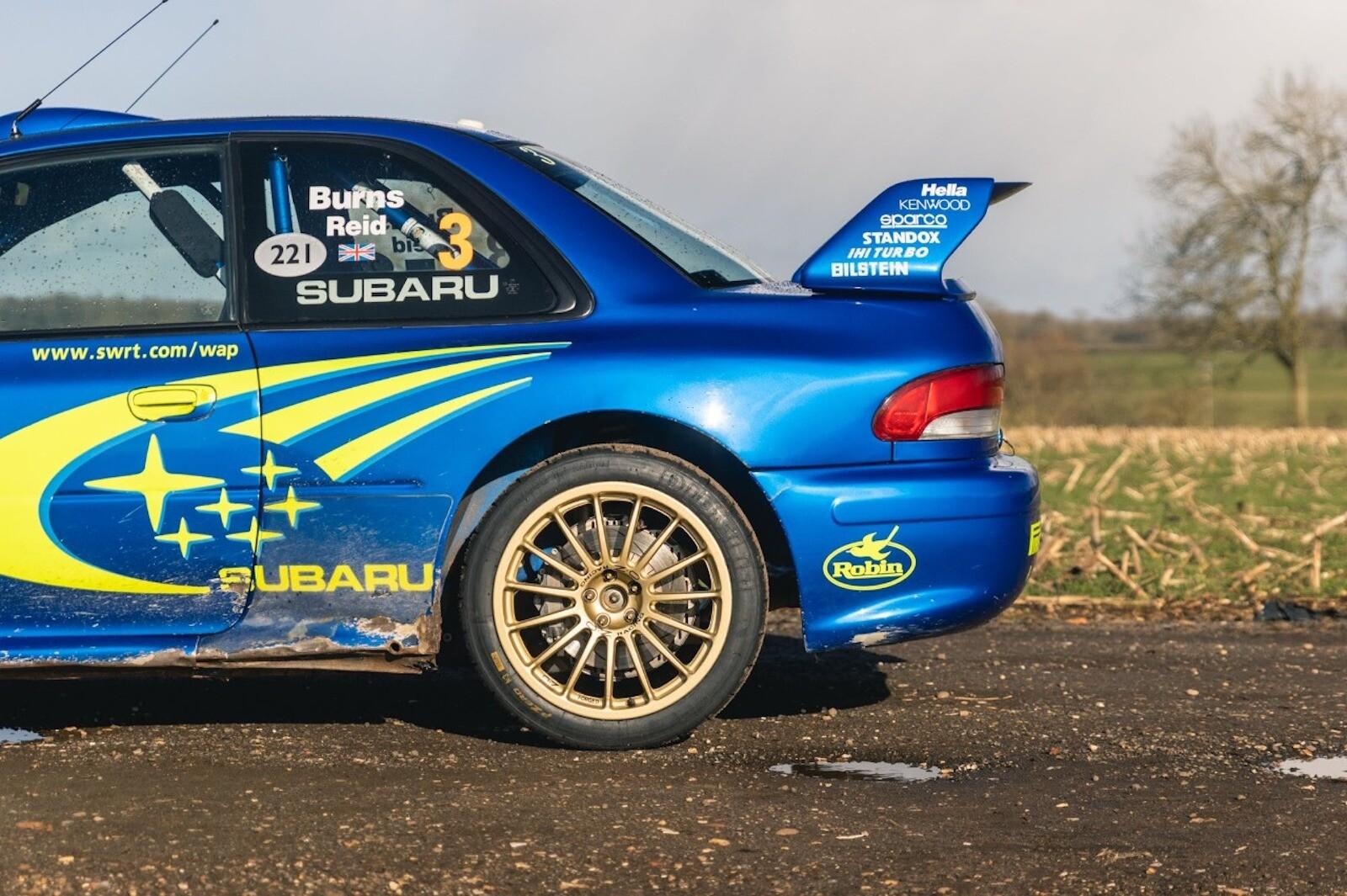 Foto de El Subaru Impreza WRC más caro en la historia (10/17)