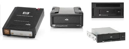 Sistemas de copia de seguridad RDX