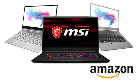 Para jugar o para trabajar, esta semana, Amazon tiene interesantes ofertas en portátiles MSI