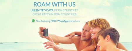 KnowRoaming, una interesante alternativa a ChatSim ahora que incluye WhatsApp ilimitado gratis